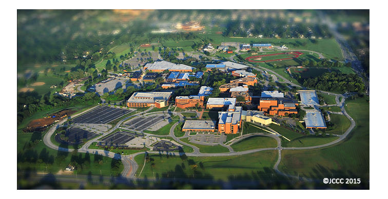 Aerial View of Johnson County Community College